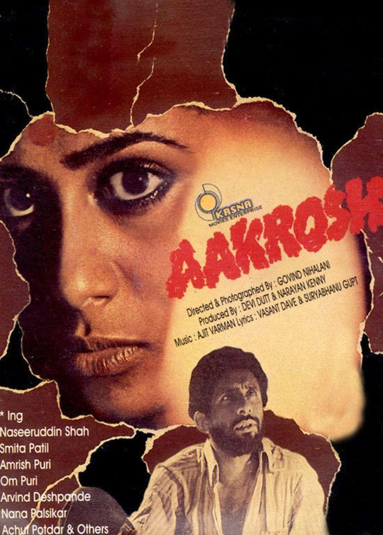 Aakrosh (1980 film) movie poster