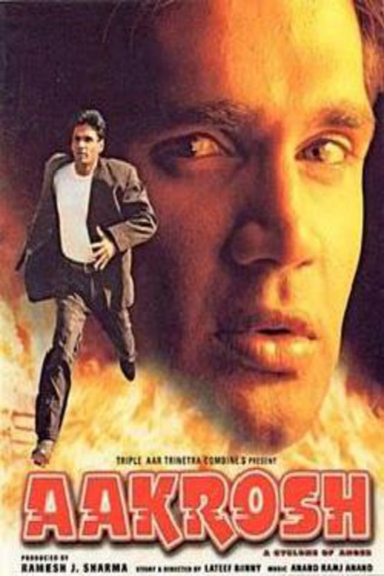 Aakrosh (1998 film) movie poster