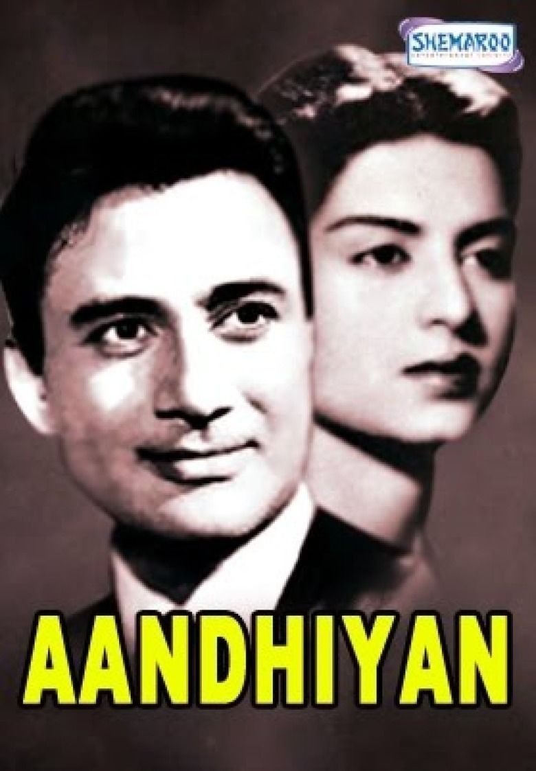 Aandhiyan (1952 film) movie poster