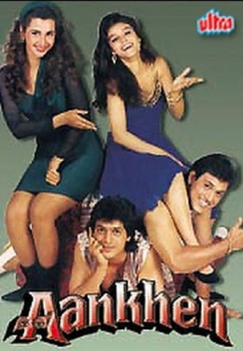 Aankhen (1993 film) movie poster
