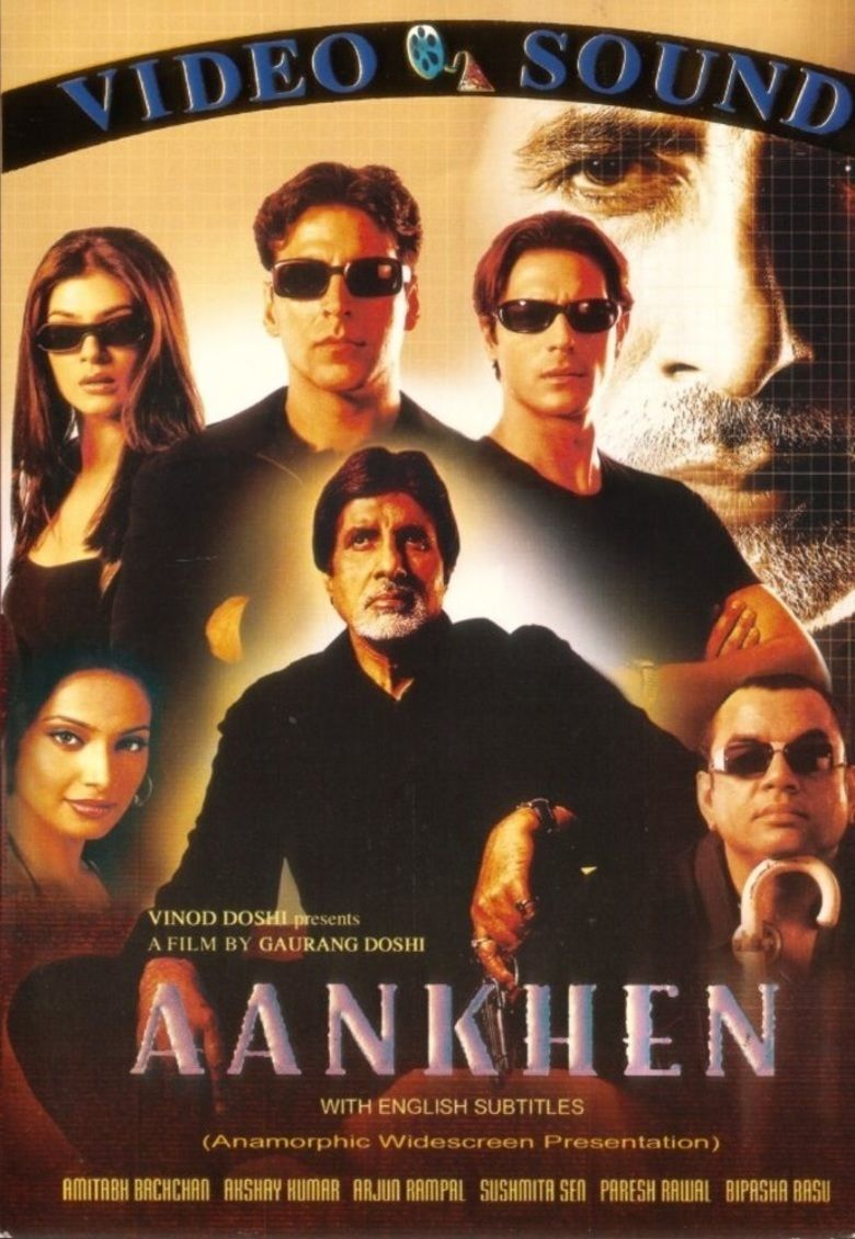 Aankhen (2002 film) movie poster