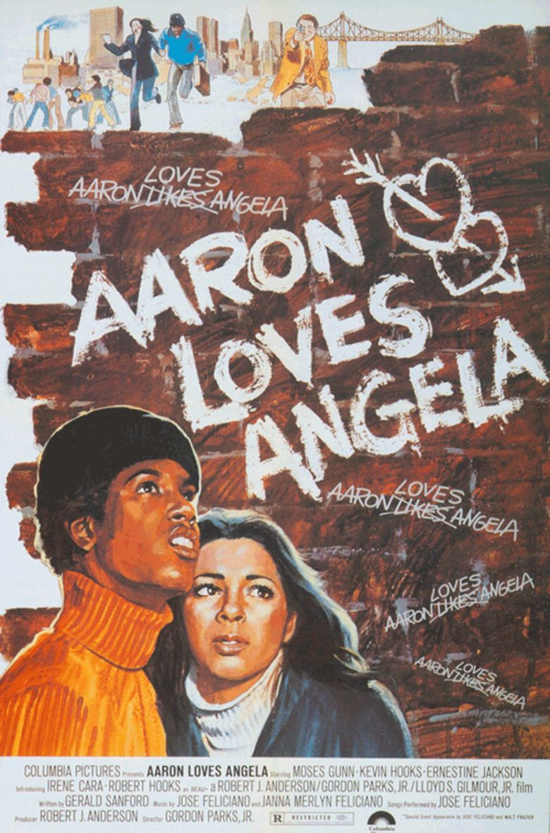 Aaron Loves Angela movie poster