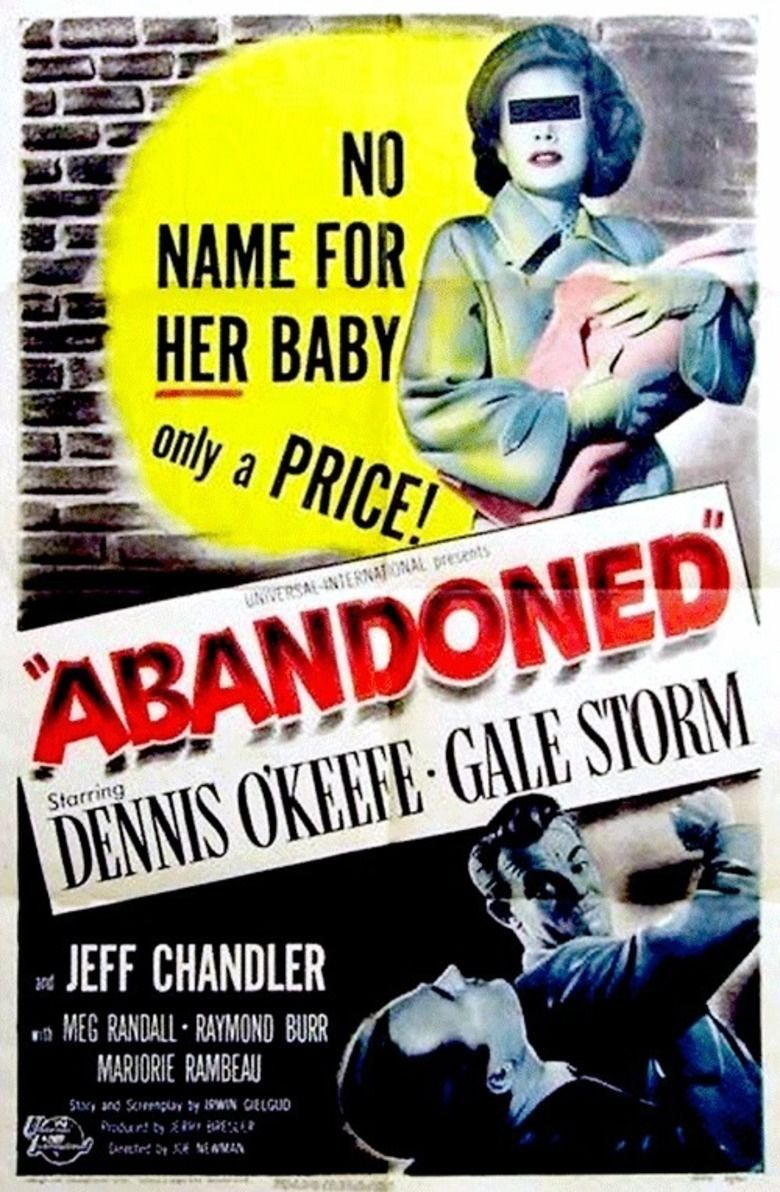 Abandoned (1949 film) movie poster