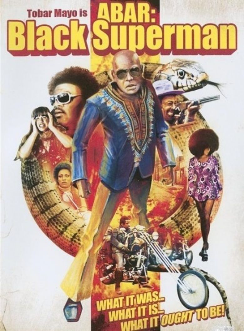Abar, the First Black Superman movie poster