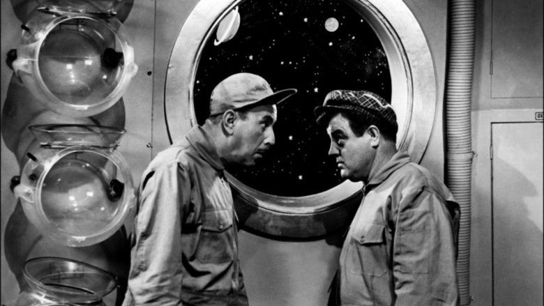 Abbott and Costello Go to Mars movie scenes