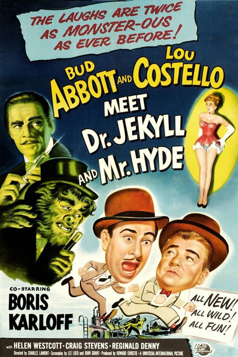 Abbott and Costello Meet Dr Jekyll and Mr Hyde movie poster