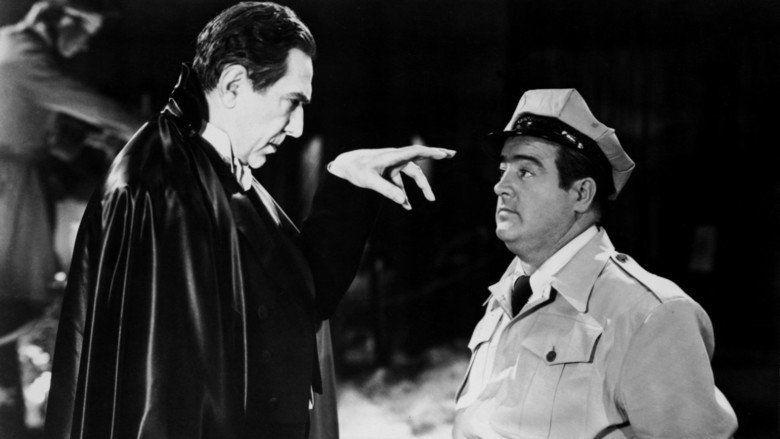 Abbott and Costello Meet Frankenstein movie scenes