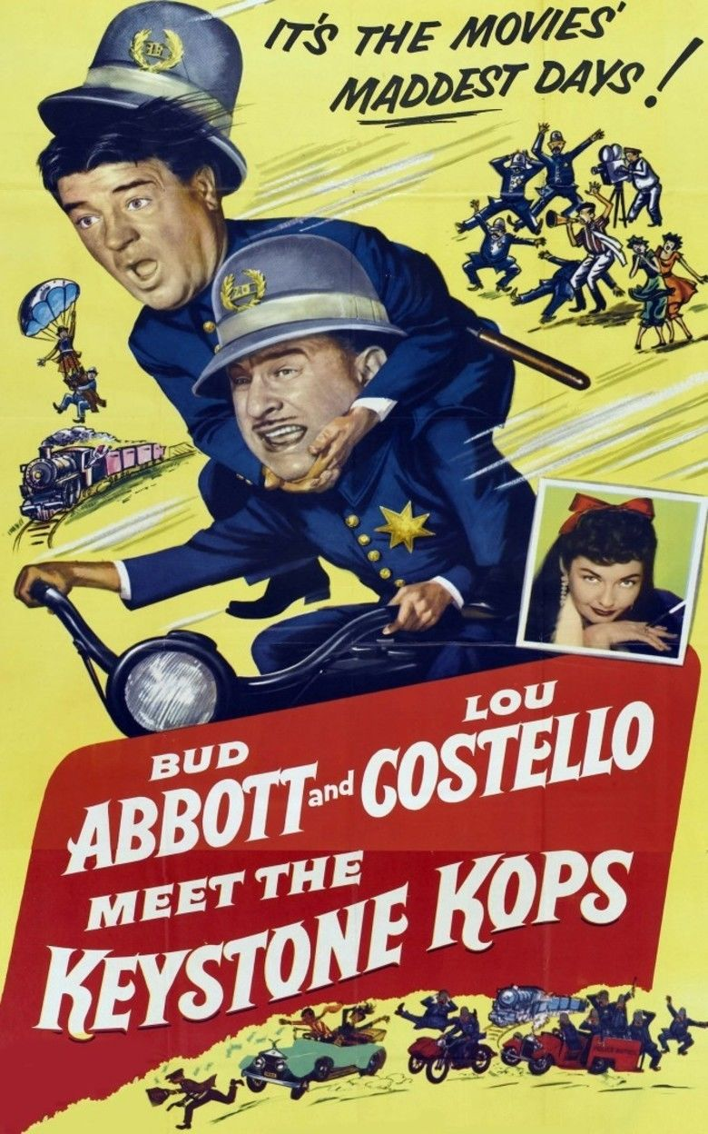 Abbott and Costello Meet the Keystone Kops movie poster