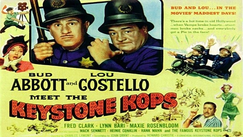 Abbott and Costello Meet the Keystone Kops movie scenes