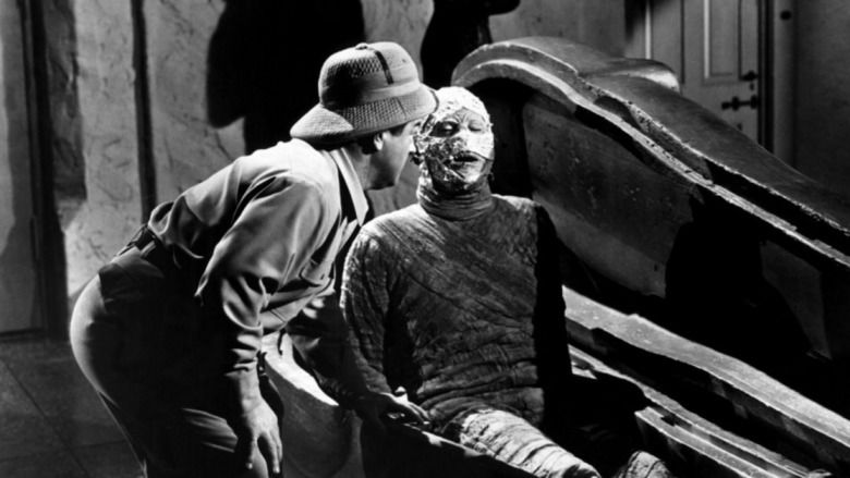 Abbott and Costello Meet the Mummy movie scenes