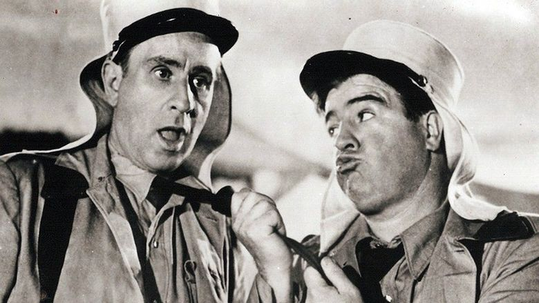 Abbott and Costello in the Foreign Legion movie scenes