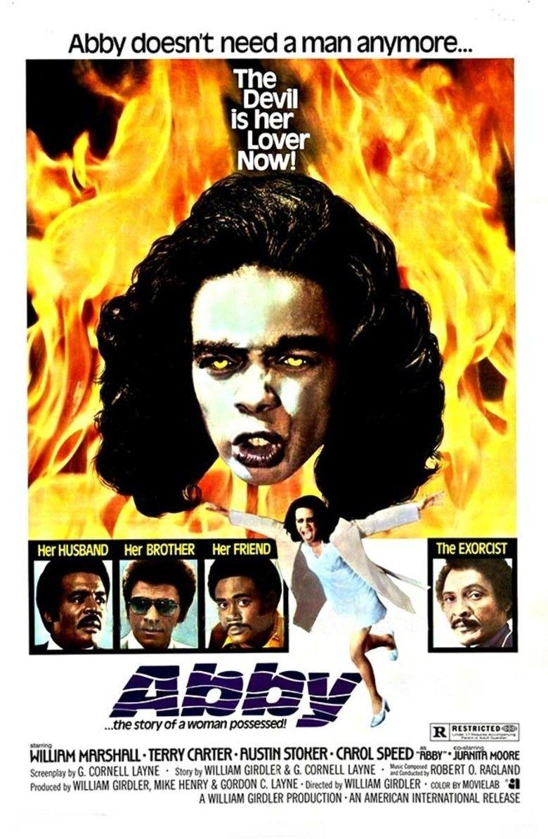 Abby (film) movie poster