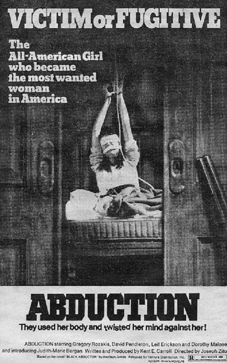 Abduction (1975 film) movie poster