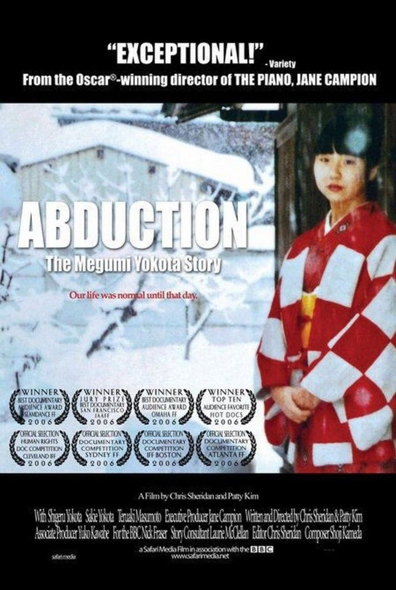 Abduction: The Megumi Yokota Story movie poster