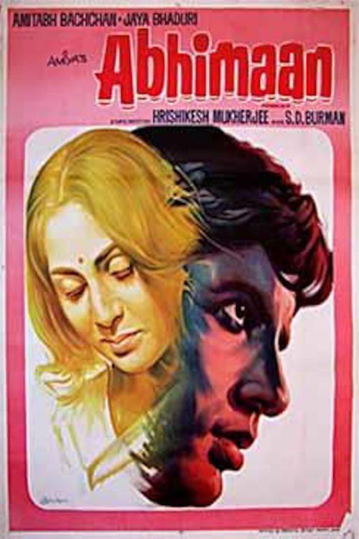 Abhimaan (1973 film) movie poster