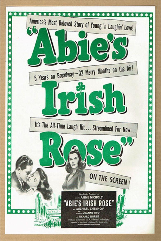 Abies Irish Rose (1946 film) movie poster