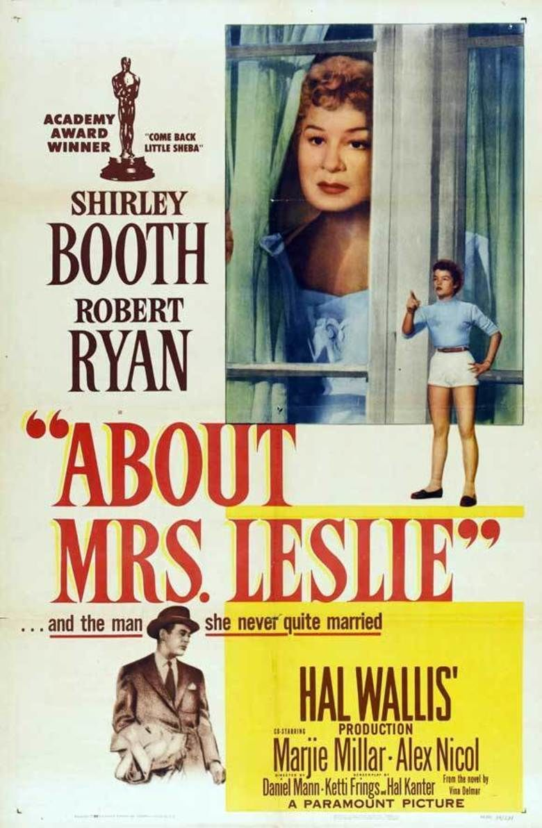 About Mrs Leslie movie poster