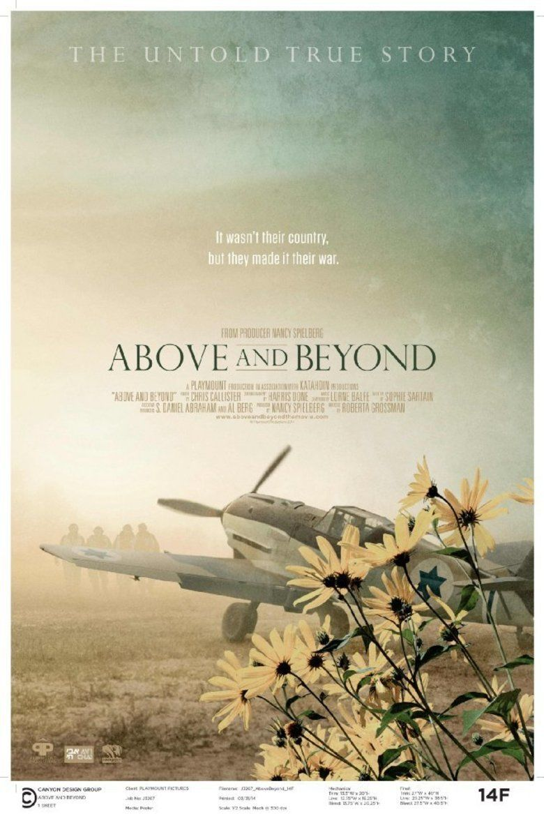 Above and Beyond (2014 film) movie poster