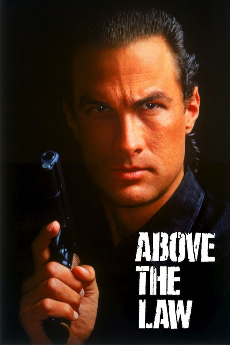Above the Law (film) movie poster