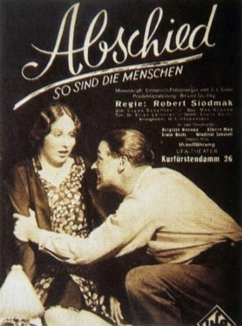 Abschied movie poster