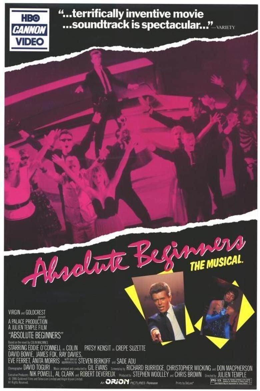 Absolute Beginners (film) movie poster