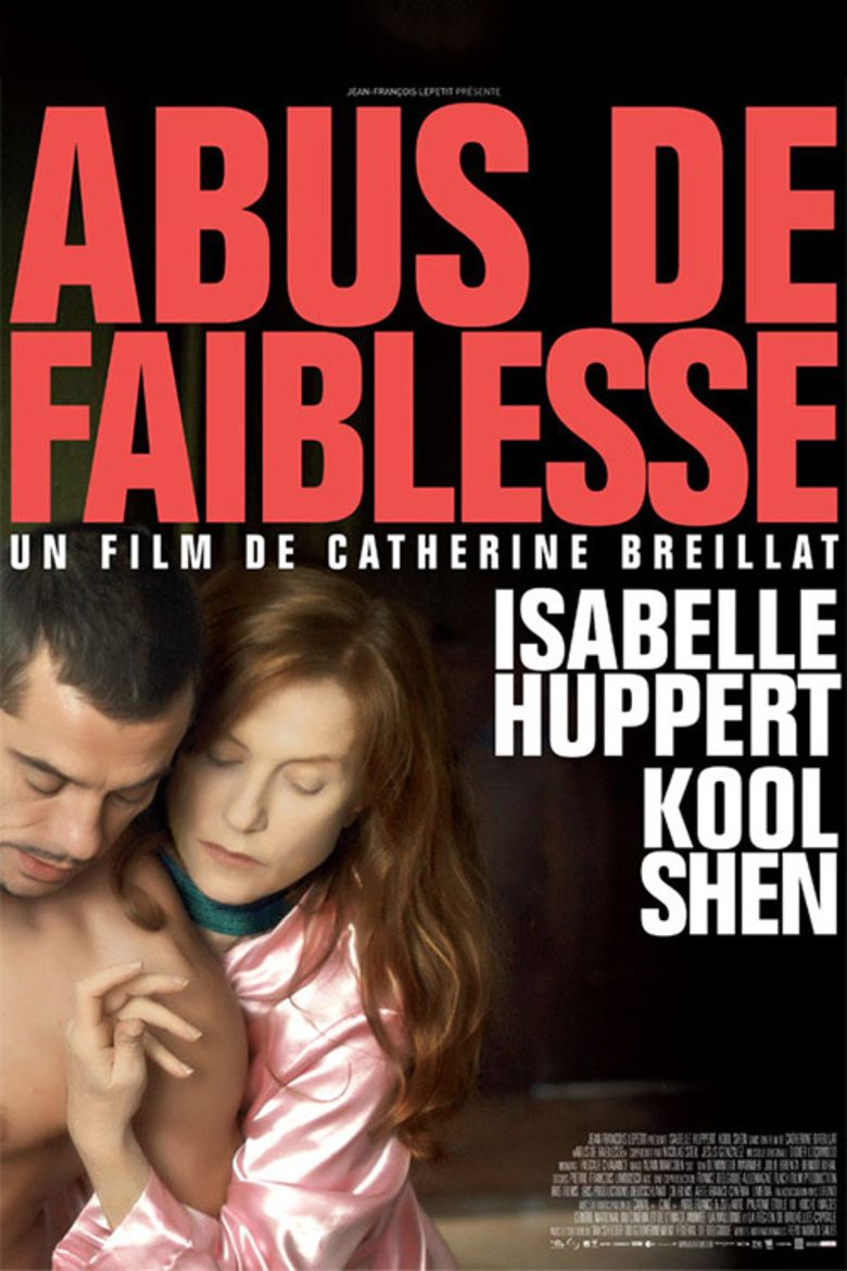 Abuse of Weakness movie poster