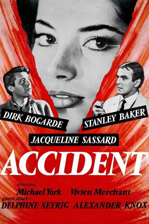 Accident (1967 film) movie poster