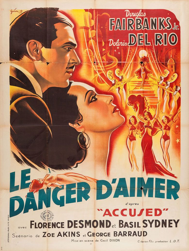 accused film the social encyclopedia accused 1936 film movie poster