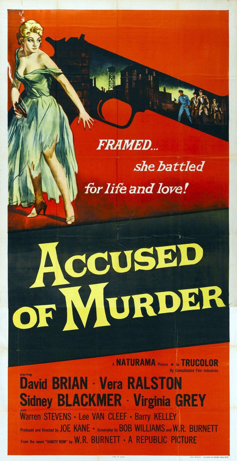 Accused of Murder movie poster