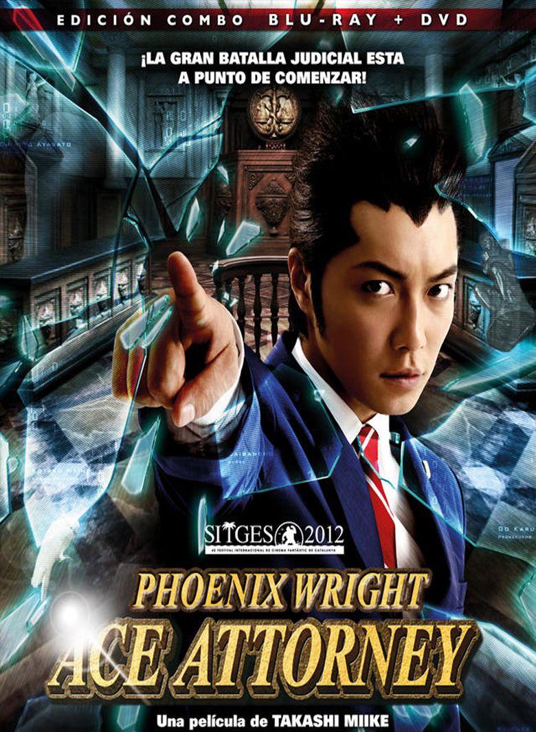 Ace Attorney (film) movie poster