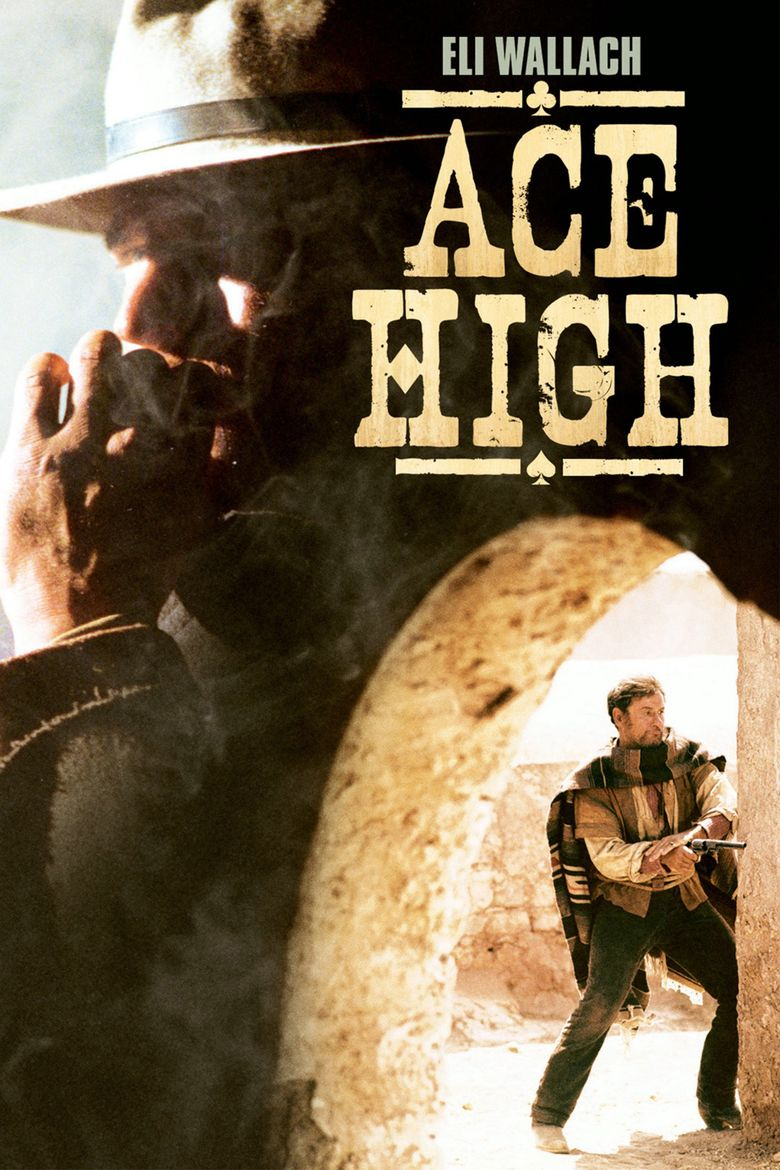 Ace High (1968 film) movie poster