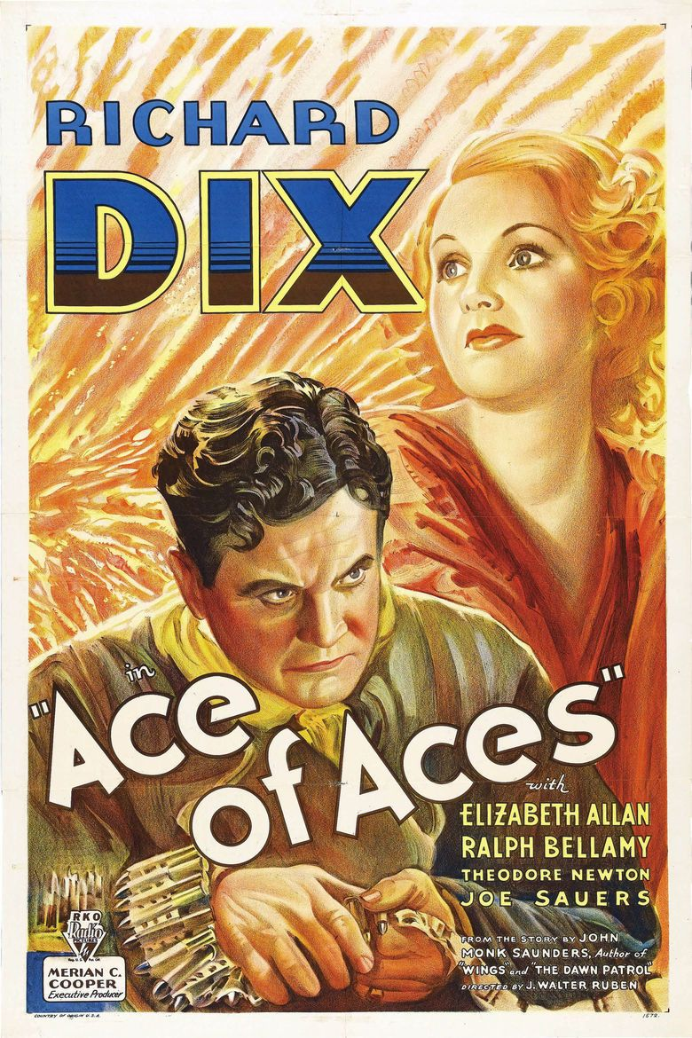 Ace of Aces (1933 film) movie poster