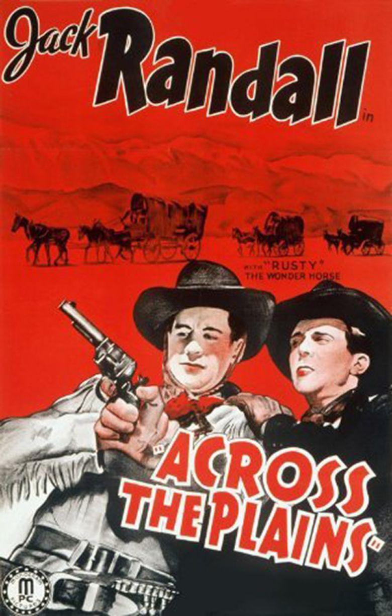 Across the Plains (1939 film) movie poster