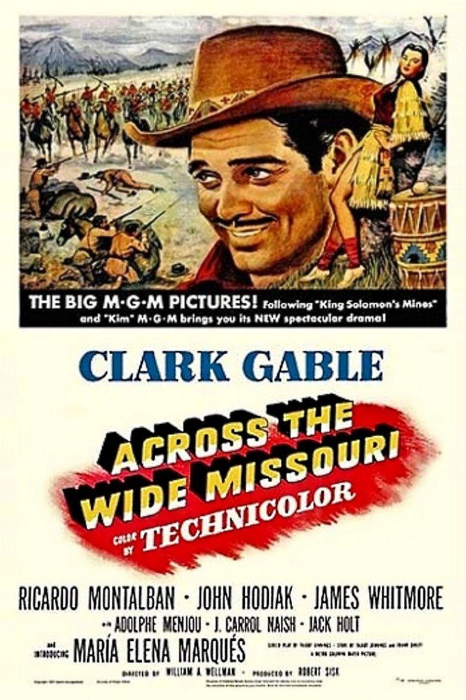 Across the Wide Missouri (film) movie poster