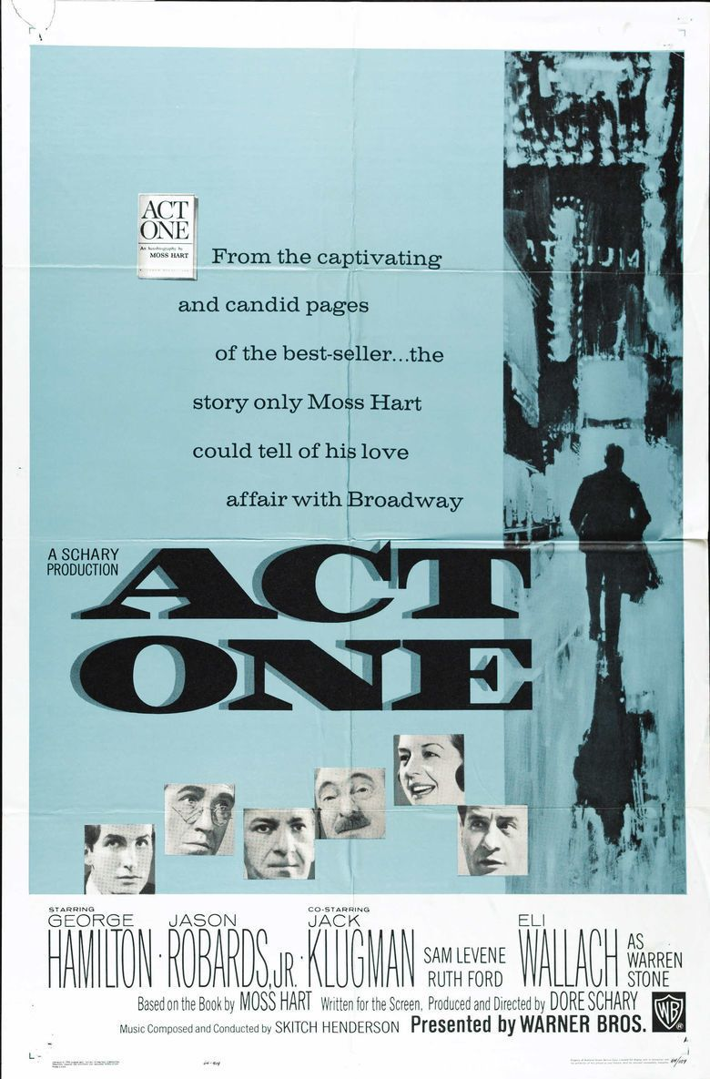 Act One (film) movie poster