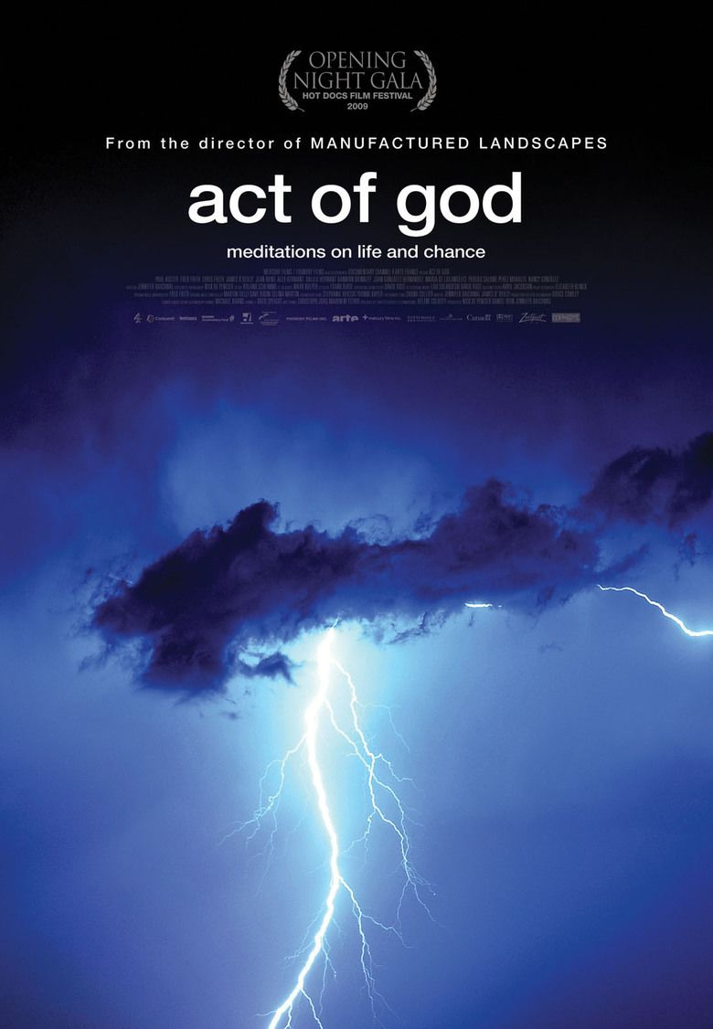 Act of God (film) movie poster
