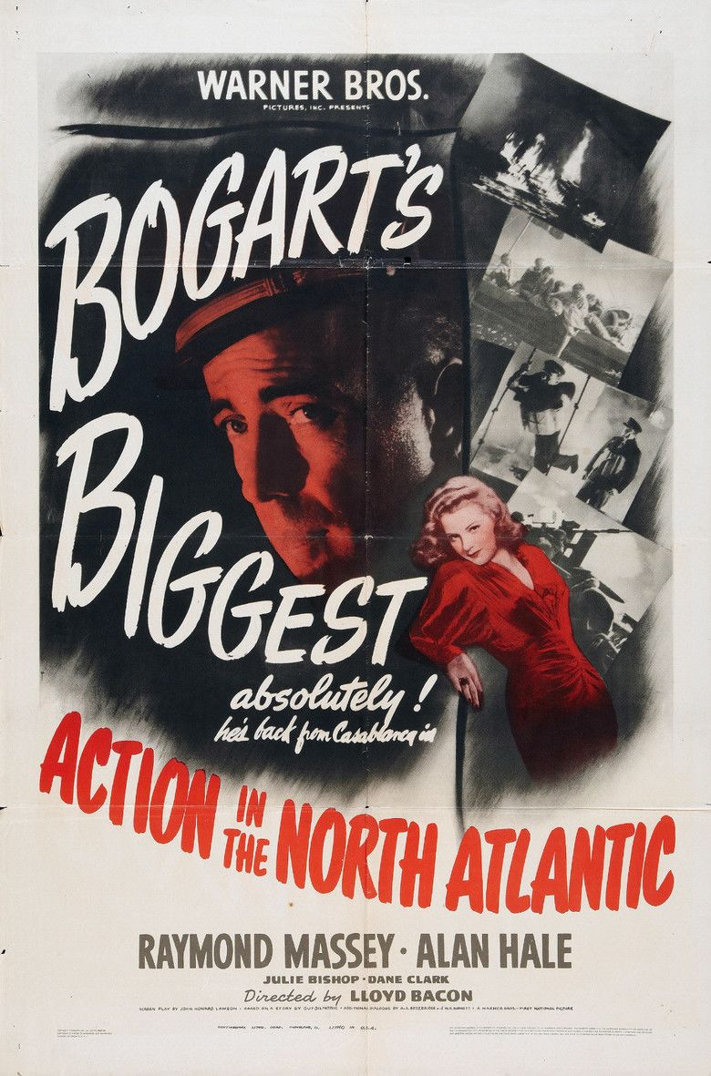 Action in the North Atlantic movie poster