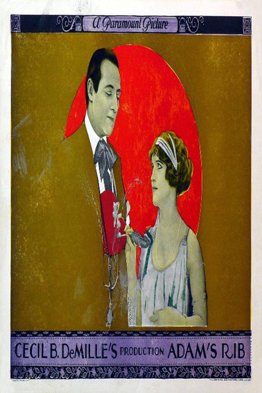 Adams Rib (1923 film) movie poster