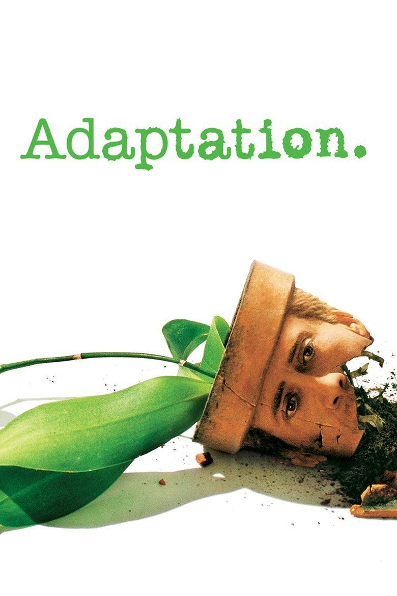 Adaptation (film) movie poster