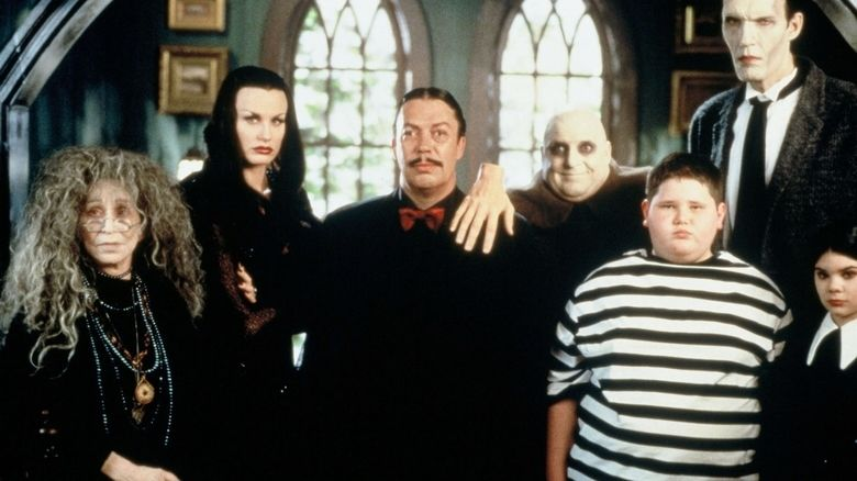 Addams Family Reunion movie scenes