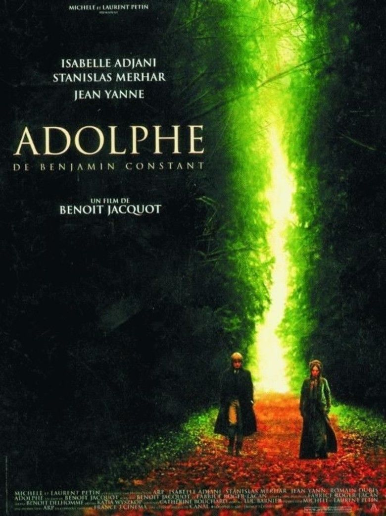 Adolphe (film) movie poster