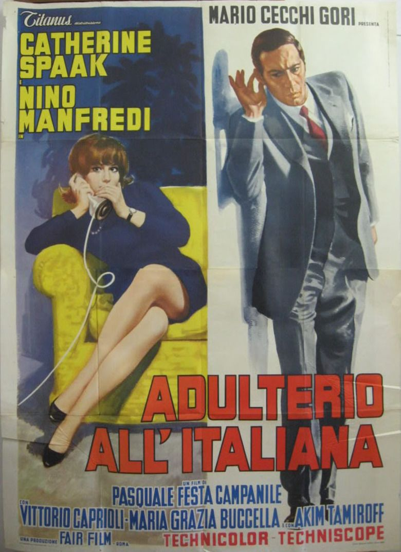Adultery Italian Style movie poster