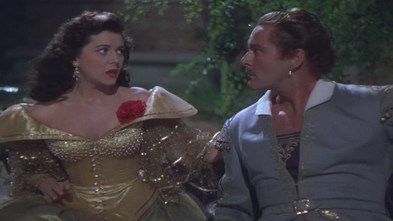 Adventures of Don Juan movie scenes