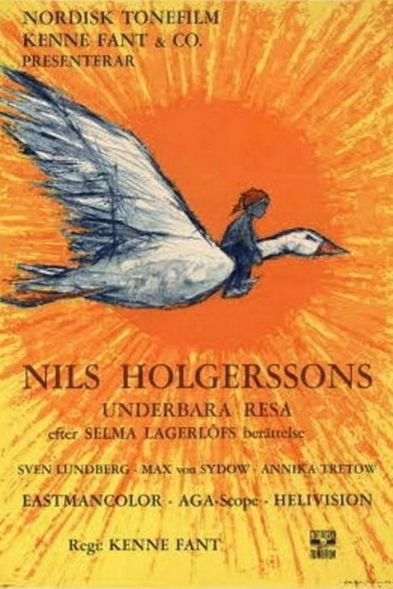 Adventures of Nils Holgersson movie poster