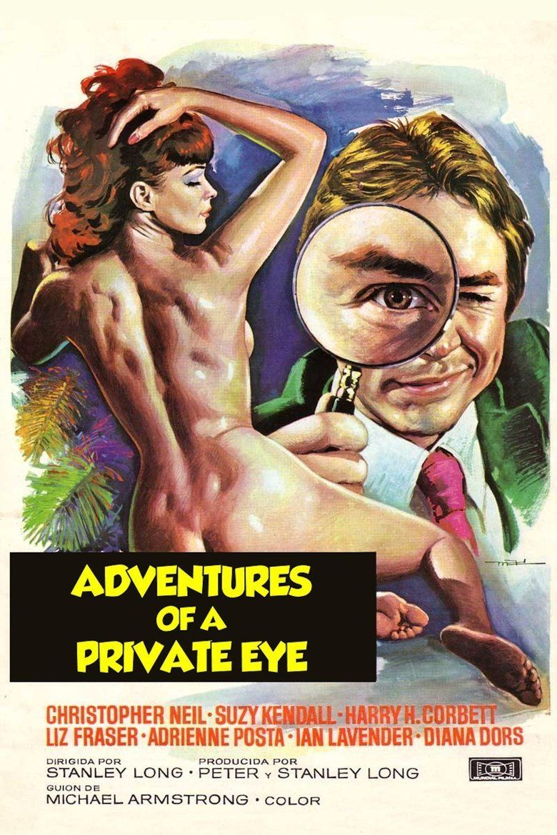 Adventures of a Private Eye movie poster