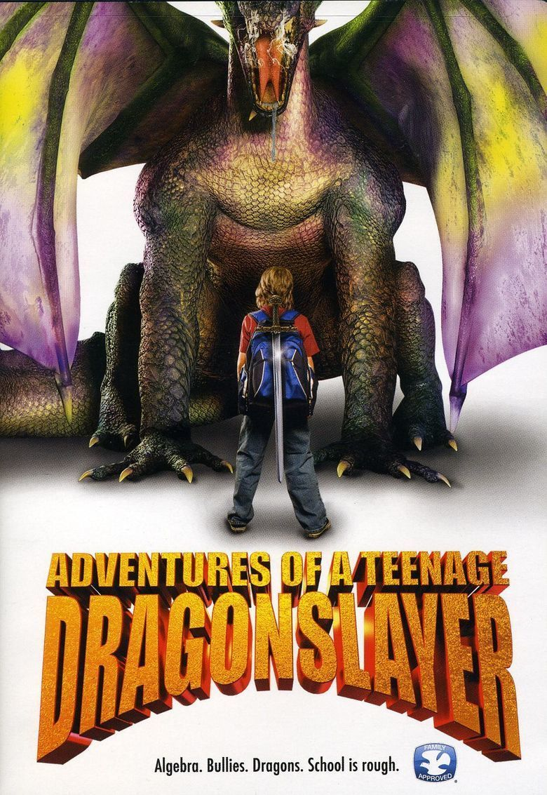 Adventures of a Teenage Dragon Slayer movie poster