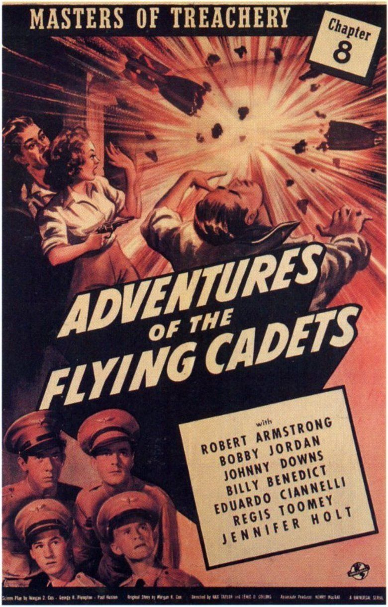 Adventures of the Flying Cadets movie poster