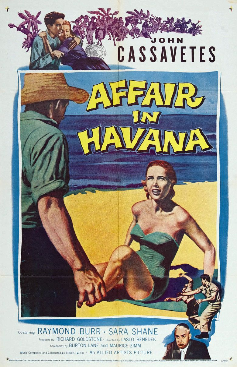 Affair in Havana movie poster