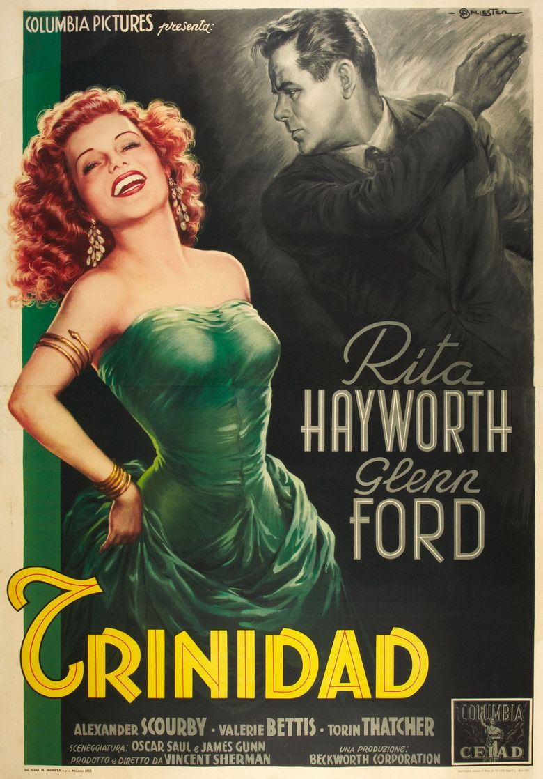 Affair in Trinidad movie poster