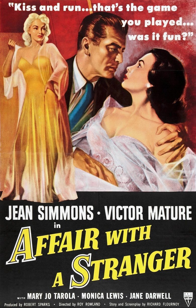 Affair with a Stranger movie poster